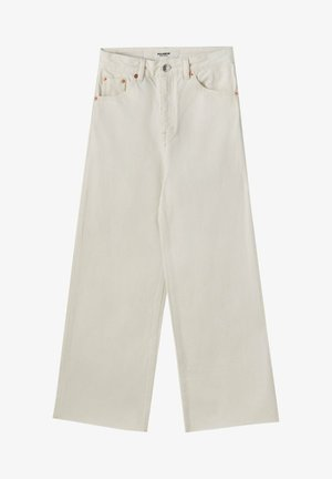 CULOTTE - Flared Jeans - white