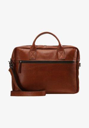 CLEAN BRIEF 1 ROOM - Briefcase - cognac