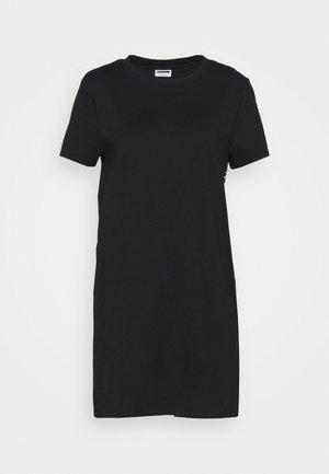 NMZODIAC SLOGAN  - Print T-shirt - black