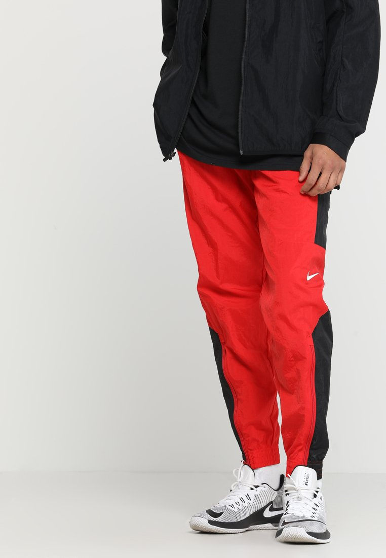 Nike Performance - RETRO PANT  - Træningsbukser - university red/black