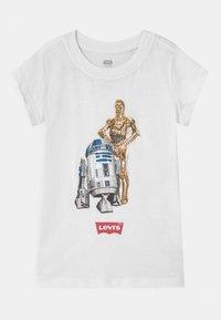 Levi's® - STAR WARS DROID - T-shirt print - white - 0