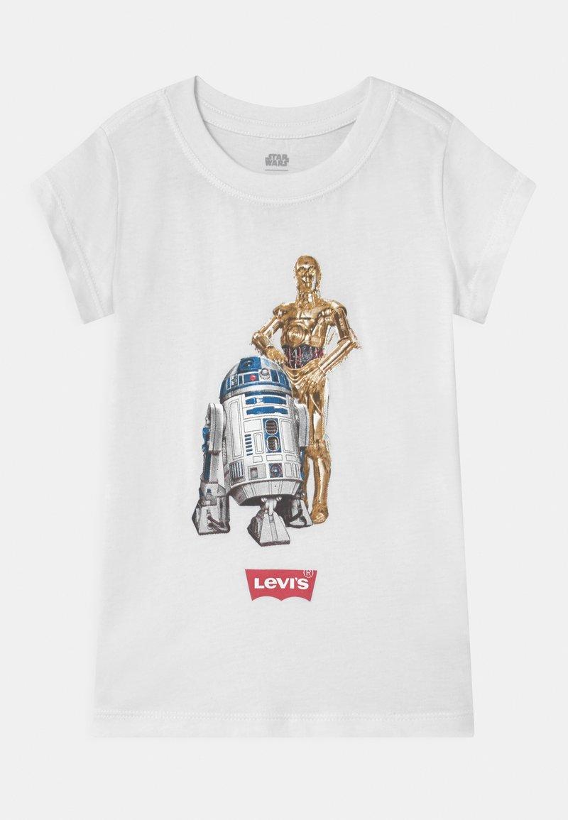 Levi's® - STAR WARS DROID - T-shirt print - white