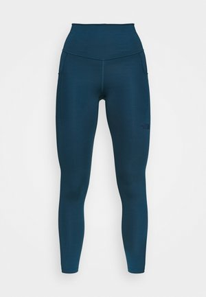 W MOTIVATION HR 7/8 POCKET TIGHT - Tights - monterey blue