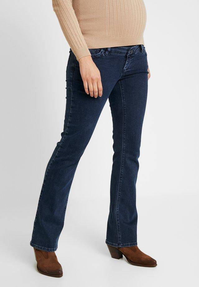 BOOTCUT - Bootcut jeans - darkwash