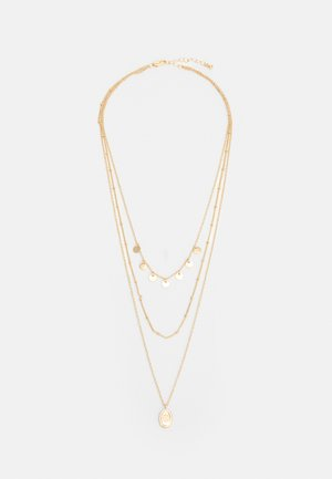 PCBLAISE COMBI NECKLACE - Necklace - gold-coloured
