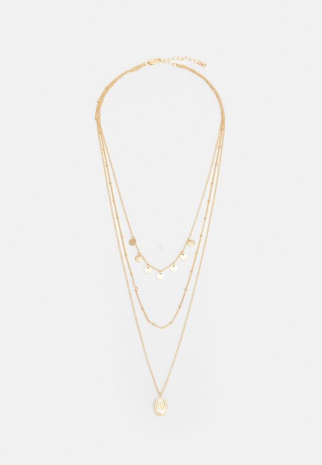 PCBLAISE COMBI NECKLACE - Collier - gold-coloured