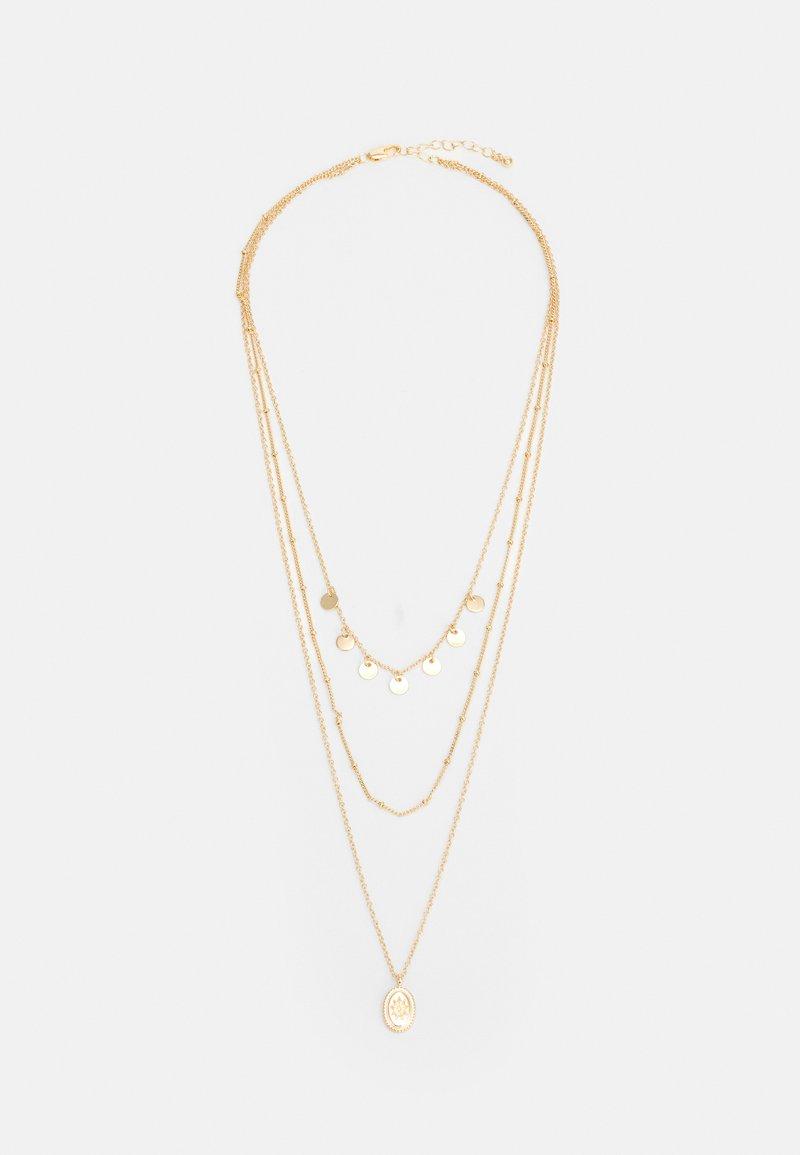Pieces - PCBLAISE COMBI NECKLACE - Necklace - gold-coloured