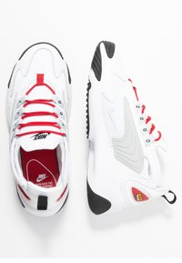 Nike Sportswear - ZOOM 2K - Sneaker low - white/pure platinum/gym red/black - 3