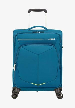 MIT 4 ROLLEN - Wheeled suitcase - teal