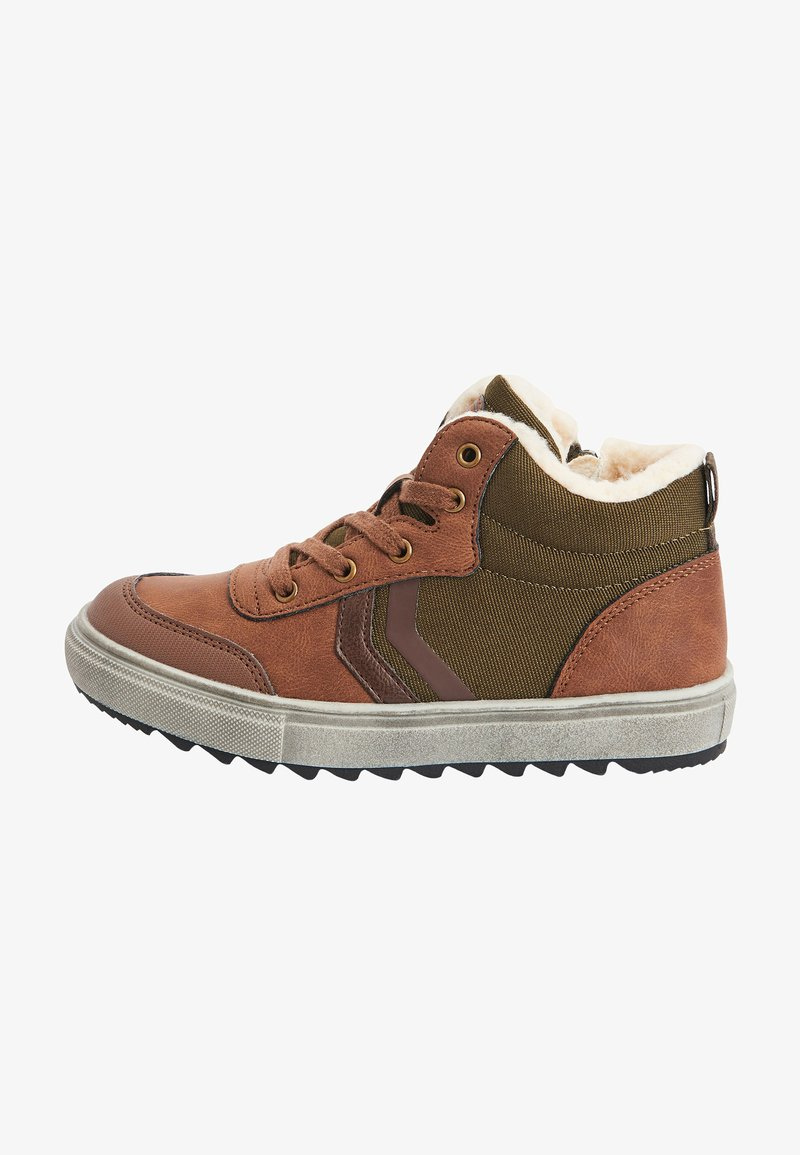 Next - Šněrovací kotníkové boty - brown