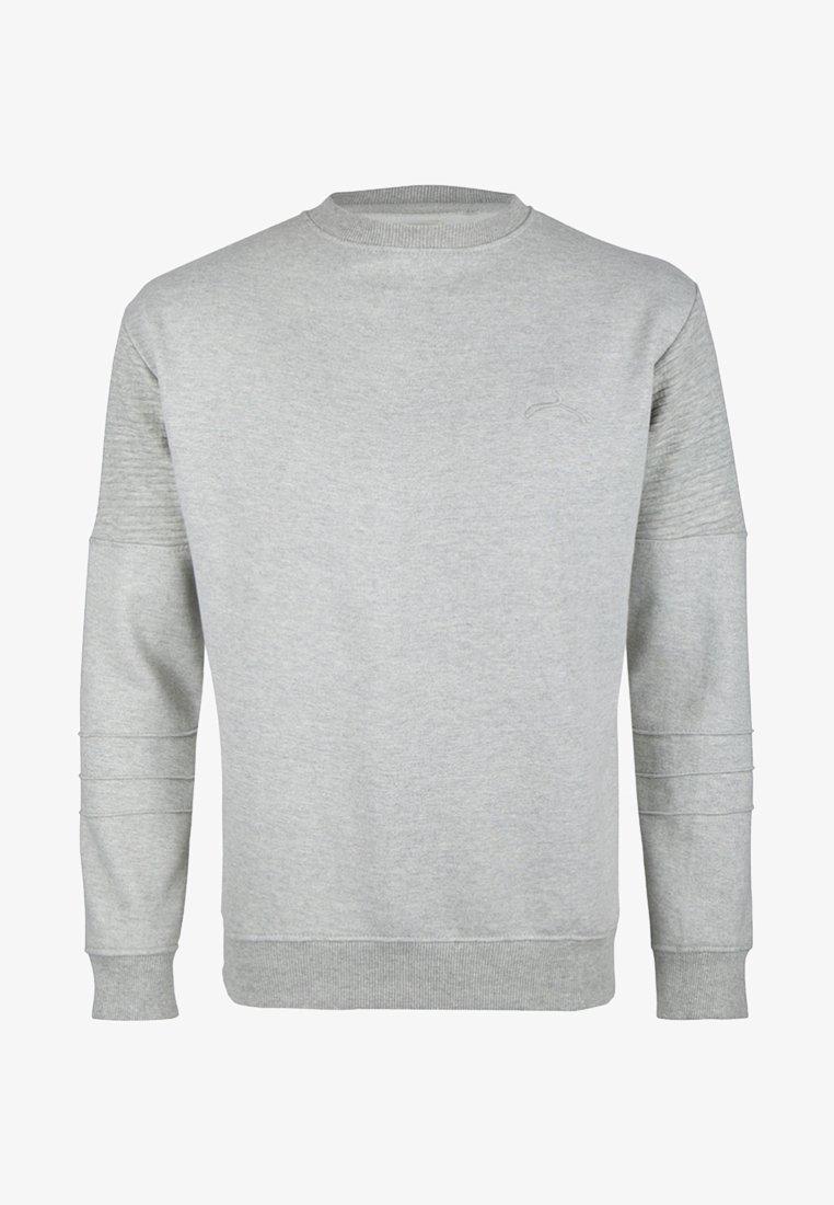 SOULSTAR - Sweatshirt - mottled grey