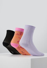 Becksöndergaard - POP SORA SOCK_GLITTER DRAKE SOCK_DINA SOLID - Socks - blue/lavender/black - 3