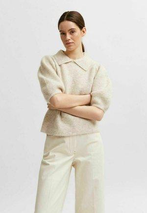 Polo shirt - sandshell