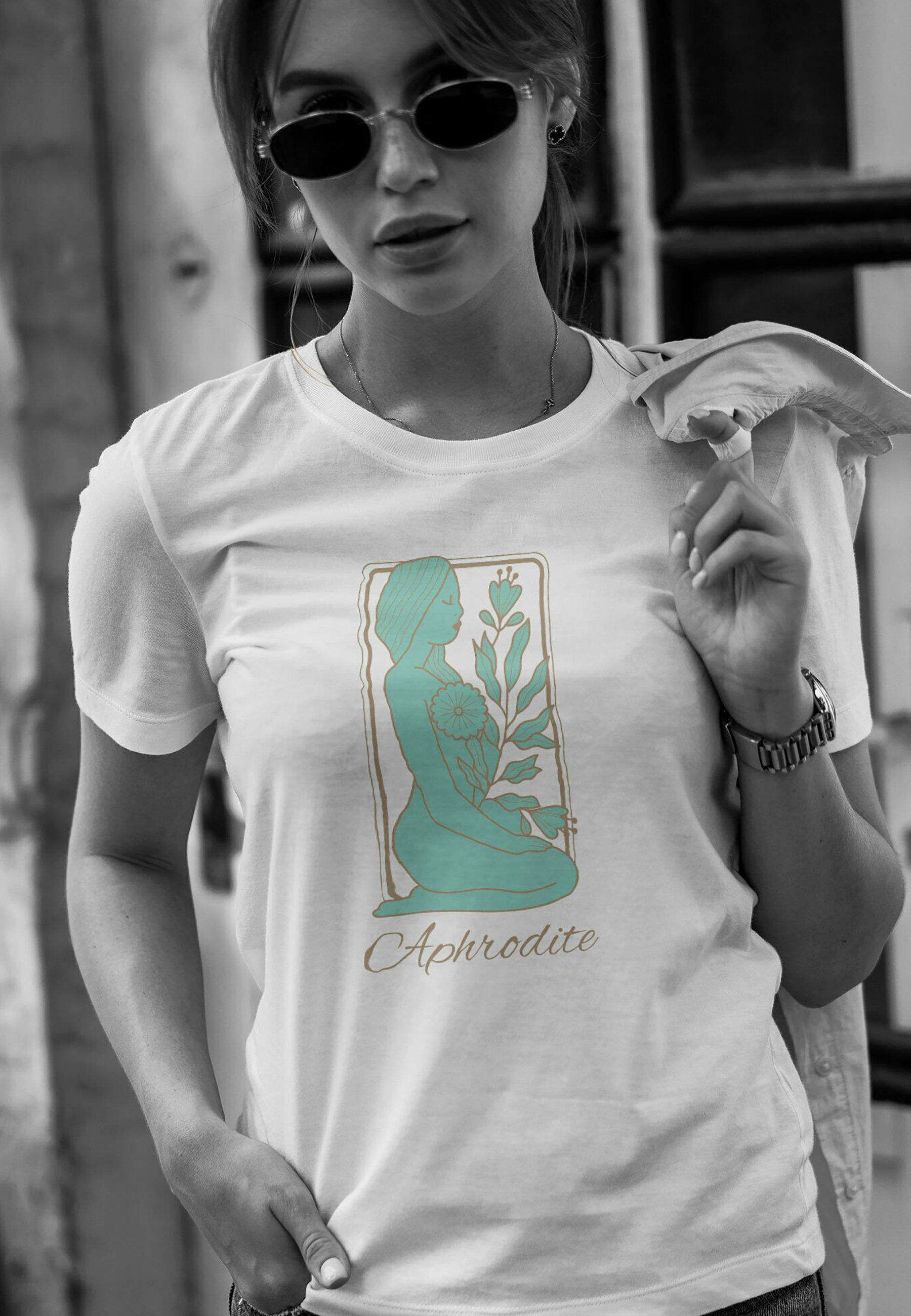Damen DAMEN APHRODITE - T-Shirt print