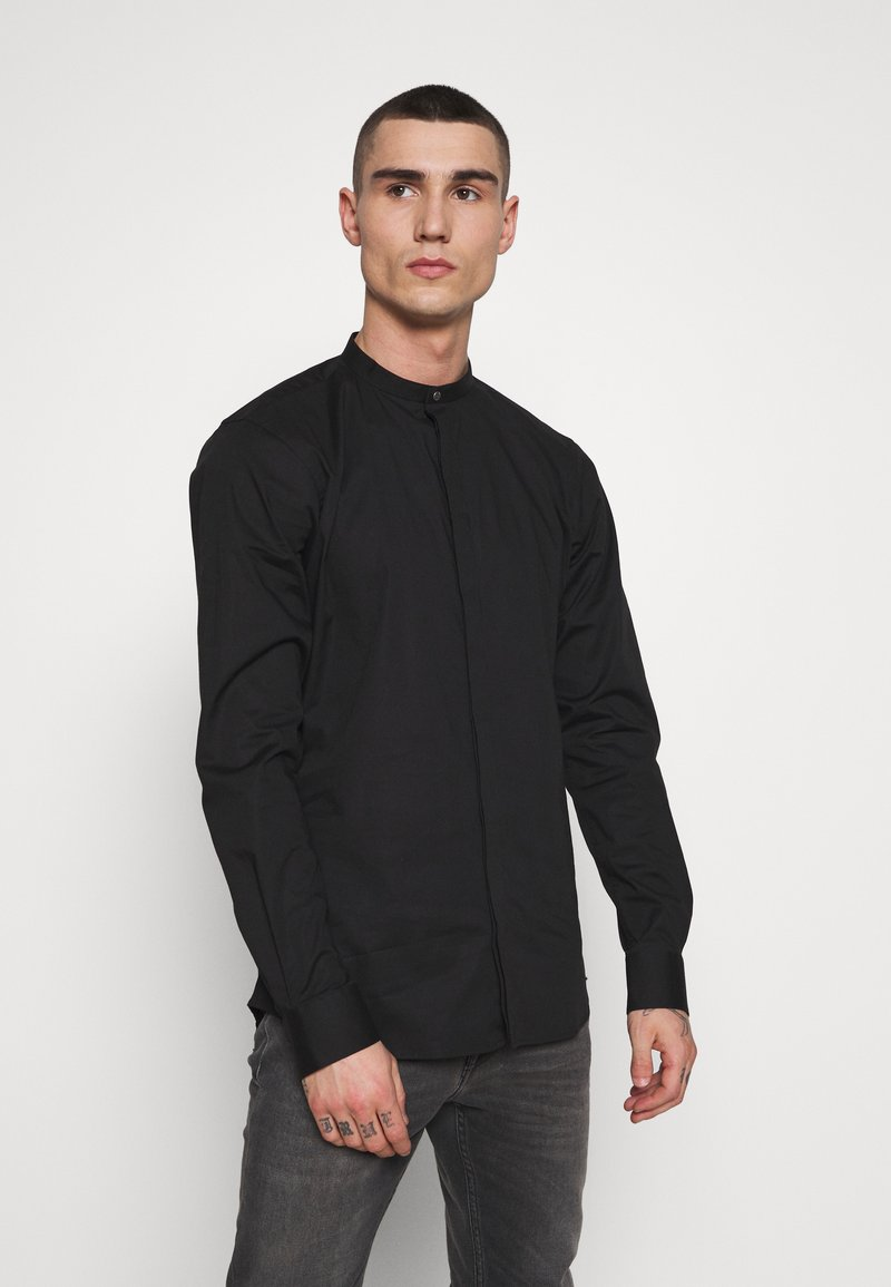 Tigha - OLE STRETCH - Overhemd - black