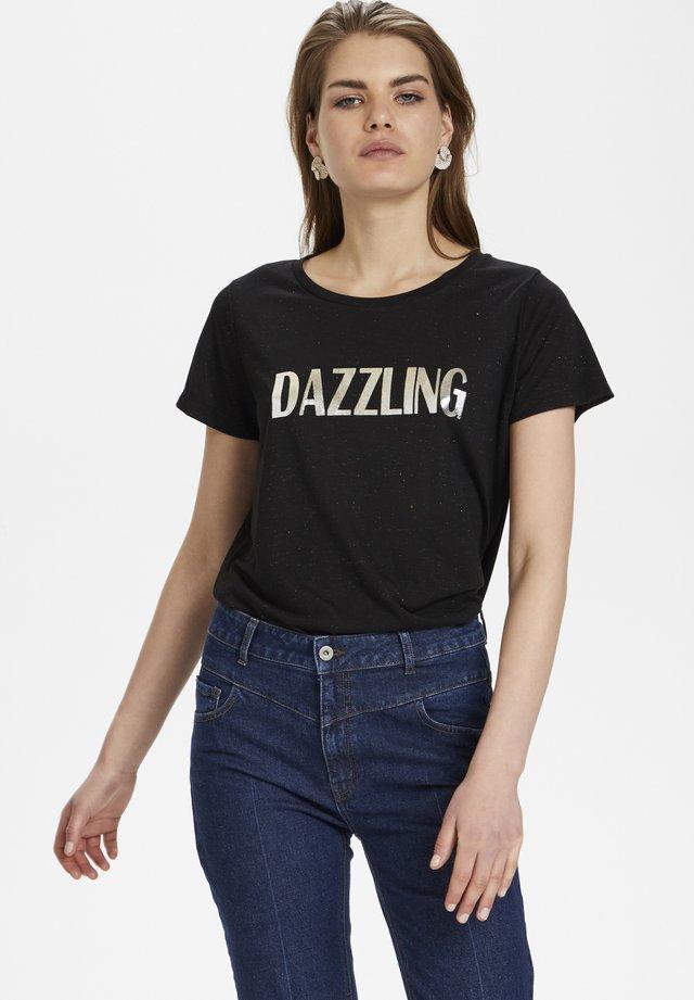 DALLASKB  - T-shirt imprimé - meteorite