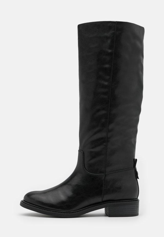 BOOTS - Saappaat - black matt