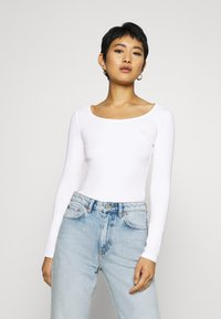 Armani Exchange - Long sleeved top - off white - 0