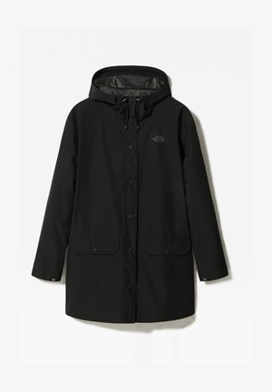 W WOODMONT RAIN JACKET - Sadetakki - tnf black