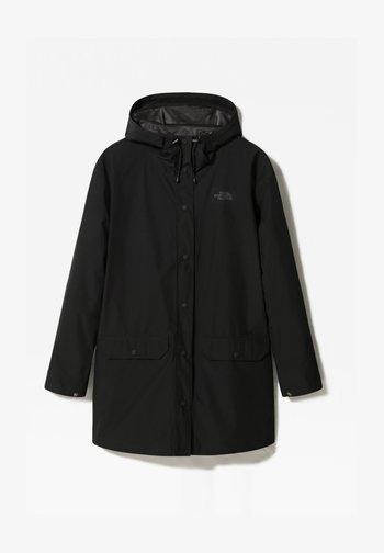 WOODMONT RAIN JACKET - Waterproof jacket - tnf black