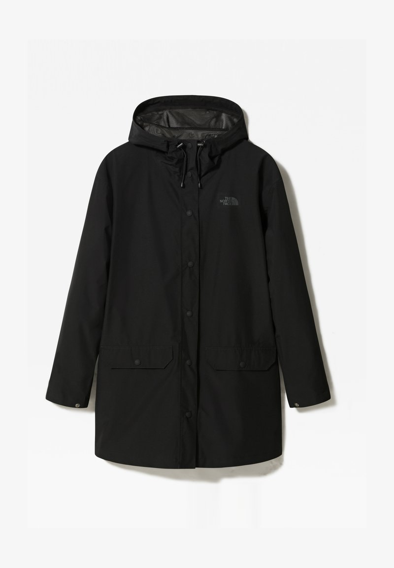The North Face - WOODMONT RAIN JACKET - Vodotěsná bunda - tnf black