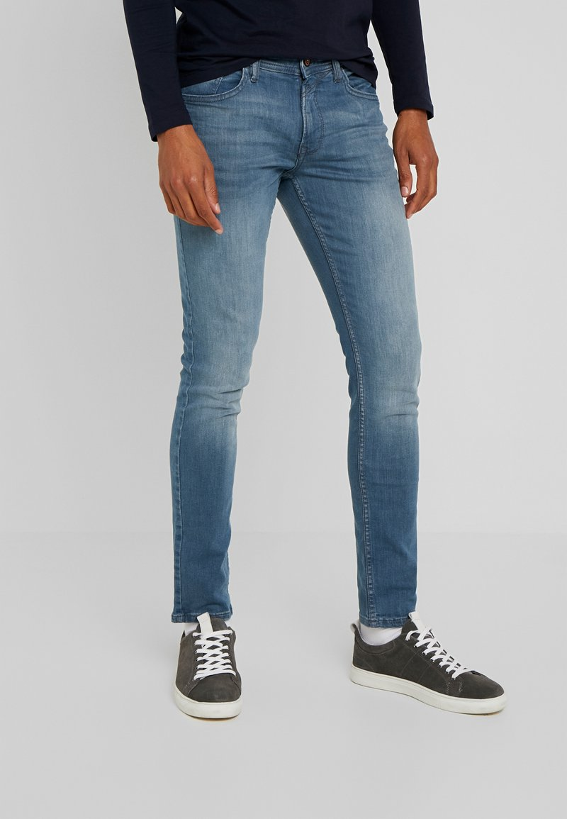 TOM TAILOR DENIM - CULVER  - Jeans Skinny Fit - blue grey denim