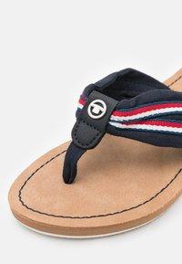 TOM TAILOR - T-bar sandals - navy - 5