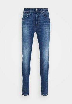 MILES  - Jeans Skinny Fit - queens mid blue str