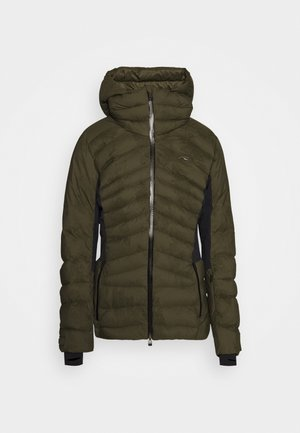 WOMEN DUANA JACKET - Ski jas - int green/black