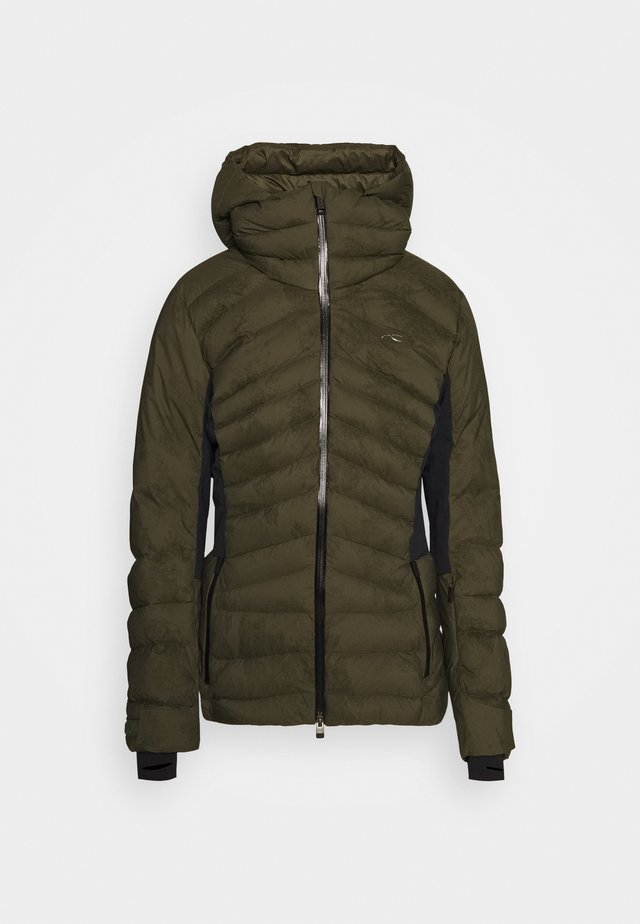 WOMEN DUANA JACKET - Ski jacket - int green/black