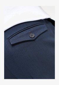 Next - TWIN PLEAT - Pantaloni - blue - 3