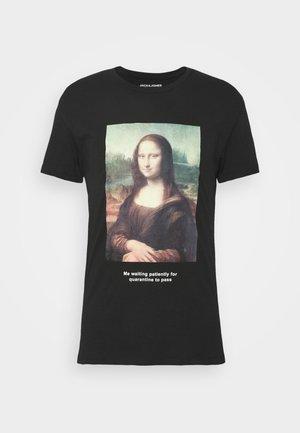 JORHISTORY TEE CREW NECK - Print T-shirt - black