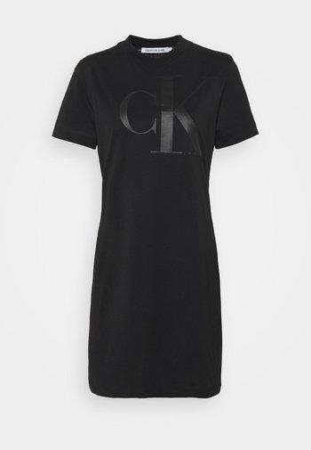 DRESS UPSCALE - Jersey dress - black