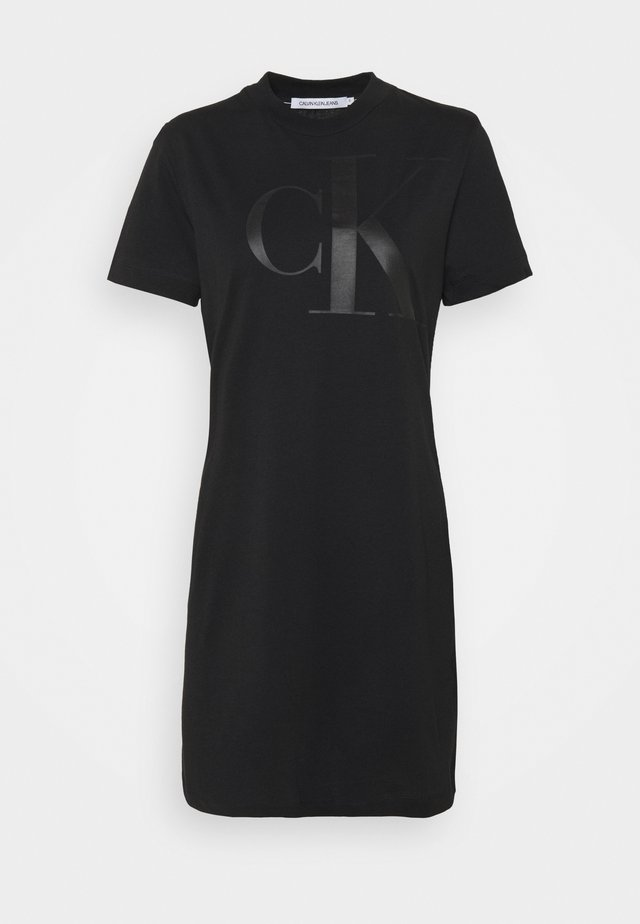 DRESS UPSCALE - Žerzejové šaty - black