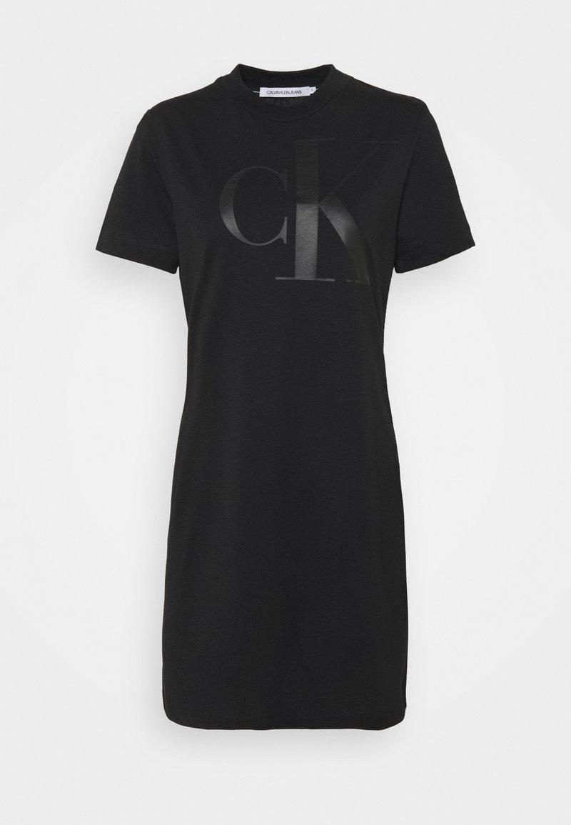Calvin Klein Jeans - DRESS UPSCALE - Jersey dress - black