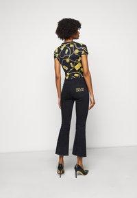 Versace Jeans Couture - Triko spotiskem - navy - 2