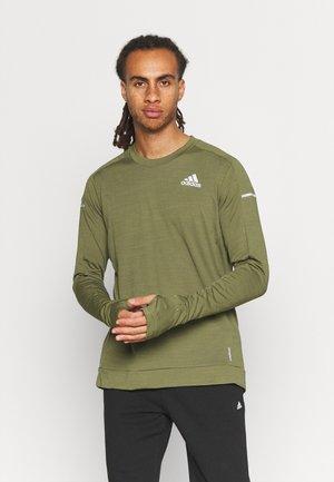COOLER SUPERNOVA AEROREADY - Sports shirt - focus olive