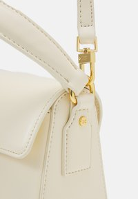 Elisabetta Franchi - RING LOGO SHOULDER BAG - Handbag - burro - 4