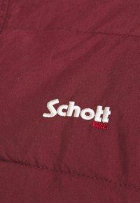 Schott - NEBRASKA - Winter jacket - bordeaux - 7