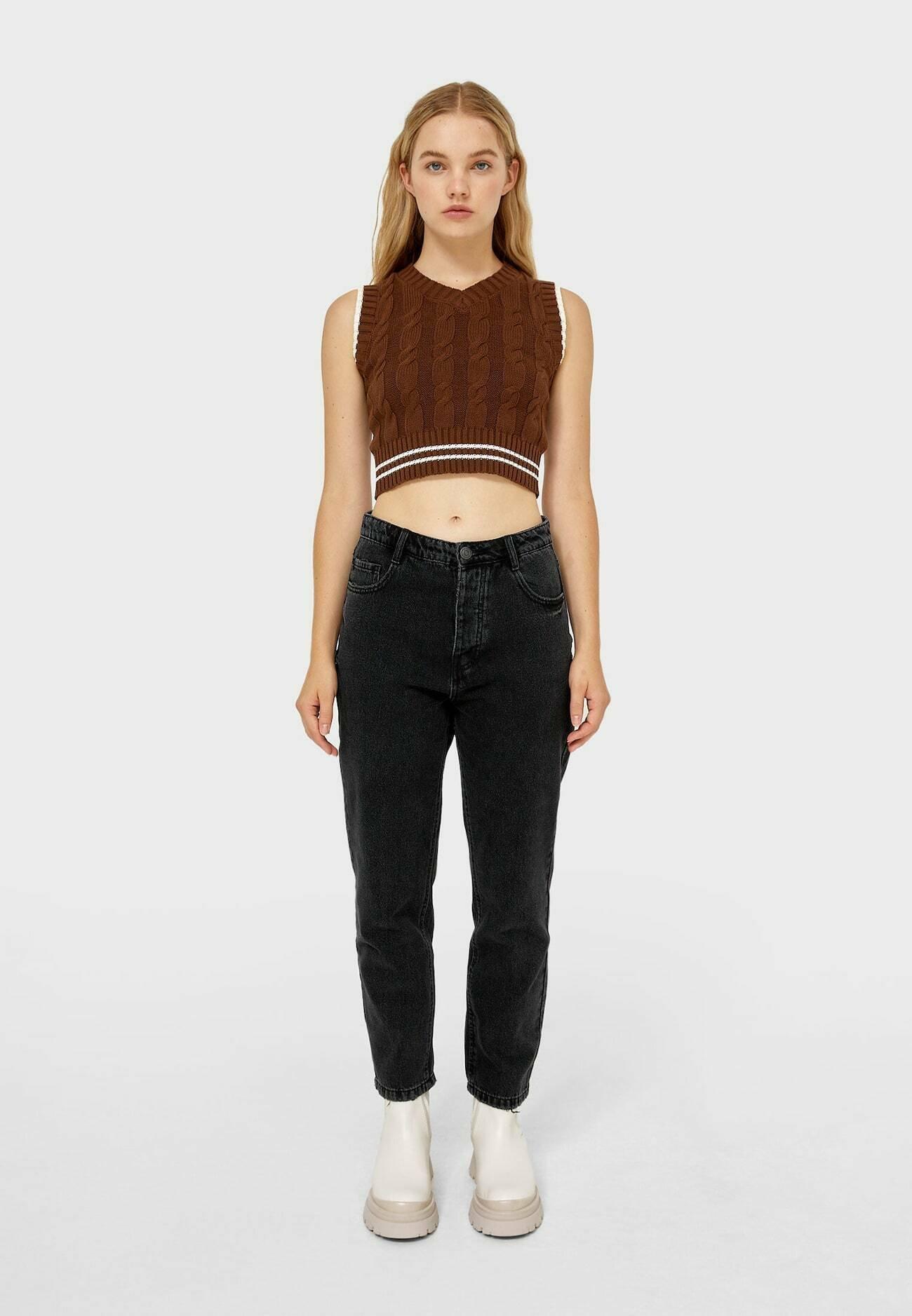 Damer MOM-FIT  - Jeans Straight Leg