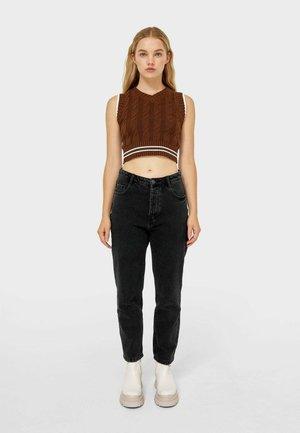 MOM-FIT  - Jeans a sigaretta - dark grey