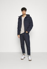 Tommy Hilfiger - HOODED STRETCH - Talvitakki - blue - 1