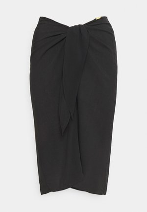 CORE SOLID SKIRT - Beach accessory - black