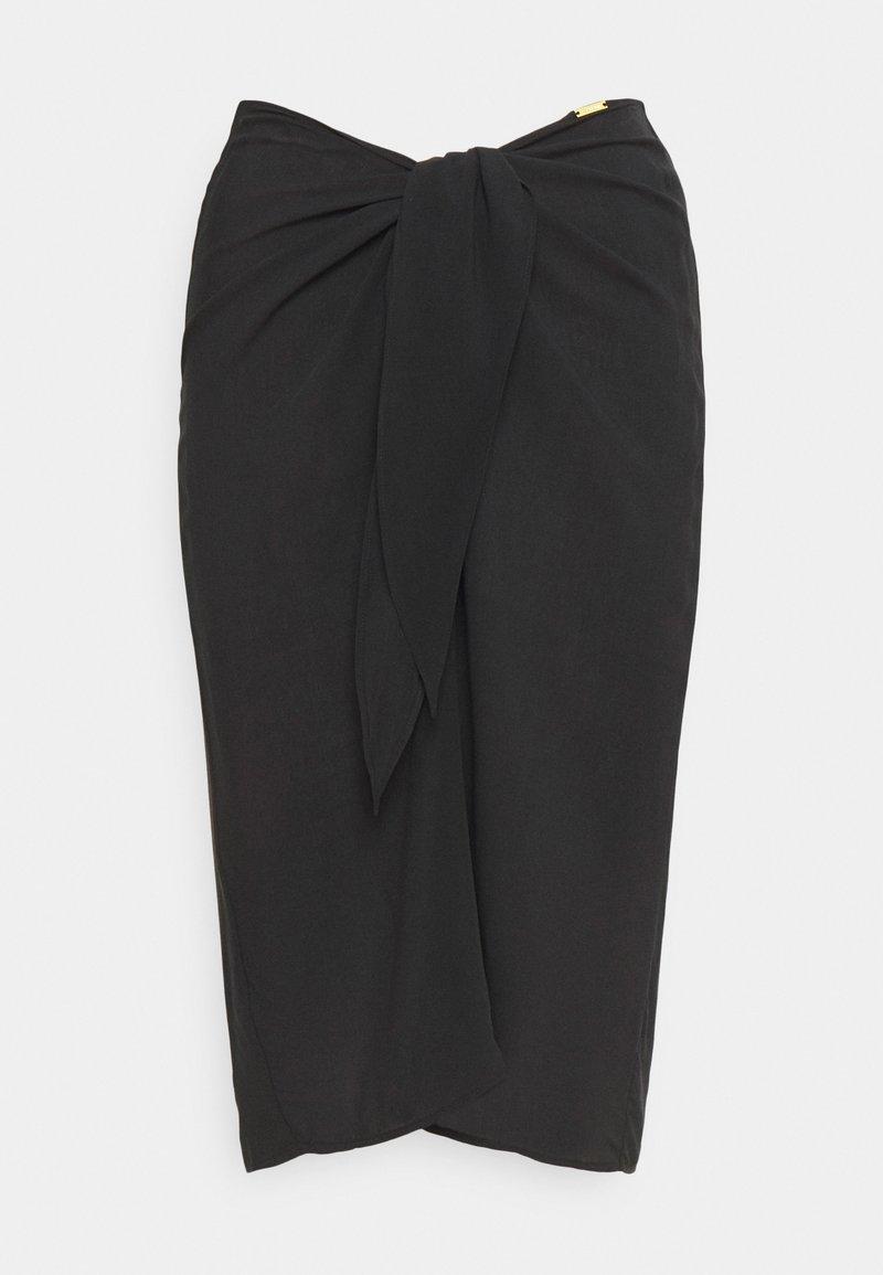 Calvin Klein Swimwear - CORE SOLID SKIRT - Beach accessory - black