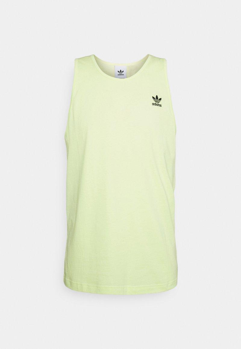 adidas Originals - ESSENTIALS TANK UNISEX - Top - pulse yellow