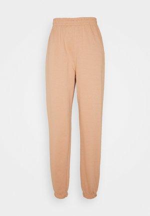 BASIC - Pantaloni sportivi - camel