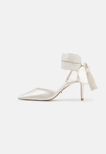 DALIAH - Lace-up heels - ivory