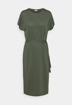 JDYURBAN GABRIELLA BELT DRESS - Jersey dress - kalamata
