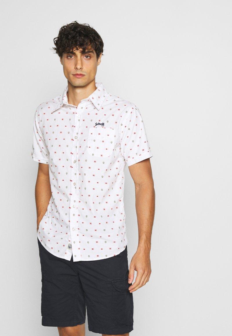 Schott - Shirt - white