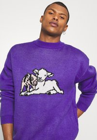 Vintage Supply - SHEEP CREW UNISEX - Pullover - purple - 3